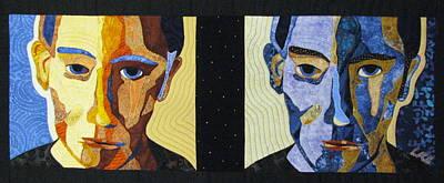 Fantasy Tapestries - Textiles Tapestry - Textile - Alternate Universe by Lynda K Boardman