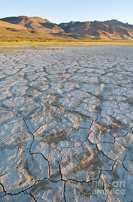 Alvord Desert Wall Art - Photograph - Alvord Desert, Oregon by John Shaw