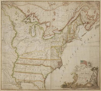 America Print by British Library