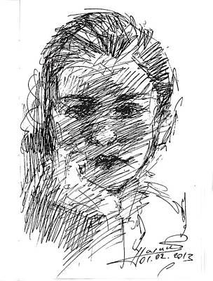 ana Art Print by Ylli Haruni