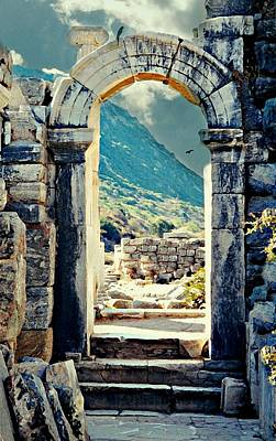 Ancient Greek Ruins Photograph - Anatolia by Diana Angstadt