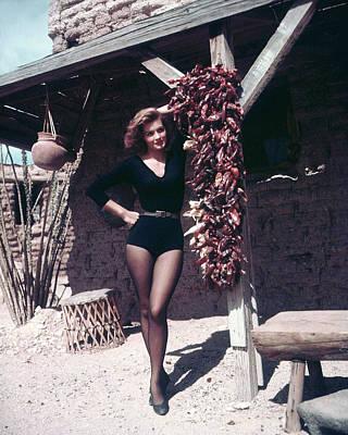 Angie Dickinson In Rio Bravo  Art Print