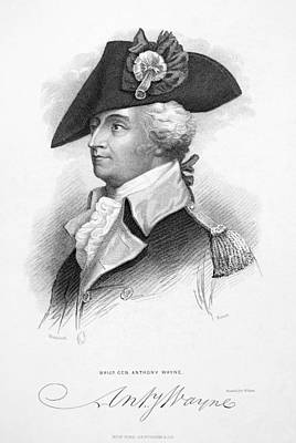 Lapel Photograph - Anthony Wayne (1745-1796) by Granger
