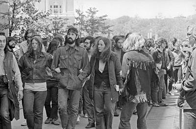 Anti-war Photograph - Anti-war Protest, 1971 by Granger