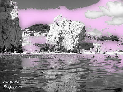 Goddess Aphrodite Digital Art - Aphrodite's Birth Place by Augusta Stylianou