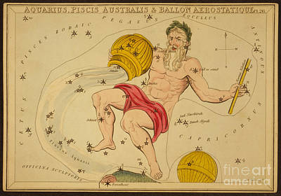 Photograph - Aquarius Constellation Zodiac Sign by Science Source
