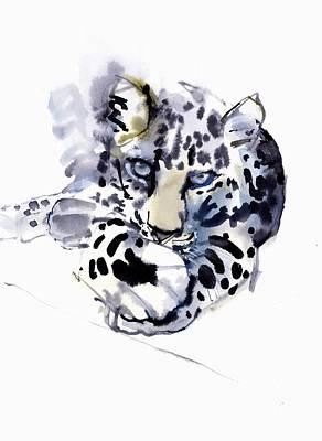 Arabian Leopard Art Print