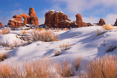 Arches National Park Art Print by Utah Images