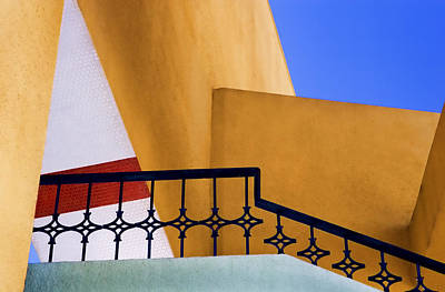 Striking Photograph - Architectural Detail by Carol Leigh