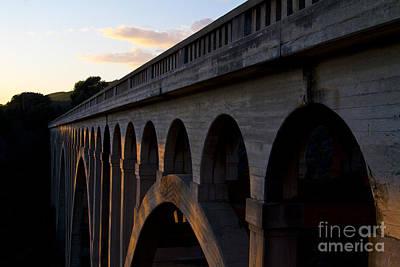 Gaviota Photograph - Arroyo Hondo Trestle Train Bridge Near Gaviota And Santa Barbara by ELITE IMAGE photography By Chad McDermott