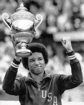 Presidential Photograph - Arthur Ashe by Retro Images Archive