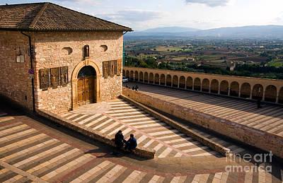 Basilica Di San Francesco Photograph - Assisi by Tim Holt