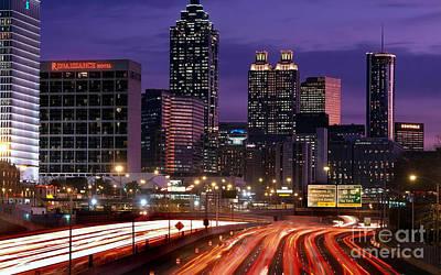 Atlanta Painting - Atlanta by Baltzgar