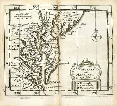 Cape Cod Photograph - Atlas Maritimus by British Library