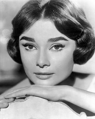 Audrey Hepburn Photograph - Audrey Hepburn by Silver Screen