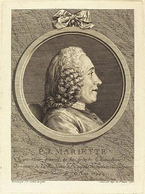 Augustin De Saint-aubin After Charles-nicolas Cochin II Art Print by Quint Lox