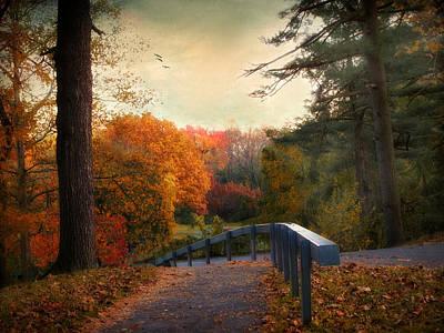 Autumn Ablaze Print by Jessica Jenney