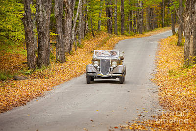 Photograph - Autumn Road by Brian Jannsen