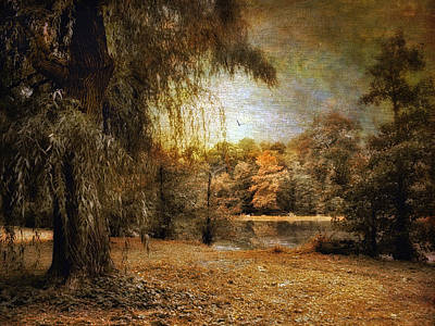Autumn Landscape Digital Art - Autumn's Canvas by Jessica Jenney