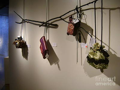 Tapestry - Textile - Bags That Carry On Exhibit by Tracie L Hawkins