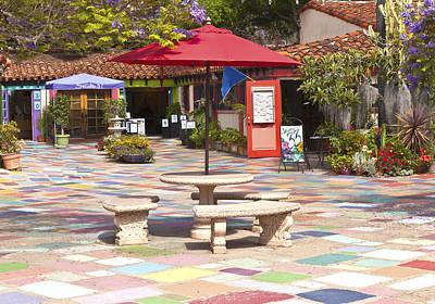 San Diego Artist Photograph - Balboa Park Spanish Village San Diego California. by Gino Rigucci