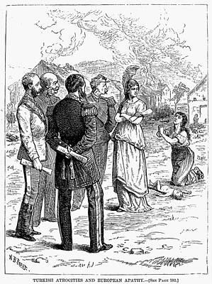 Serbian Painting - Balkan Insurgency, 1876 by Granger
