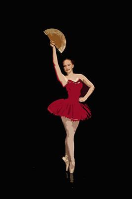 Photograph - Ballerina Warhol Style by Jouko Lehto