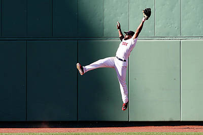 Photograph - Baltimore Orioles V Boston Red Sox by Jim Rogash