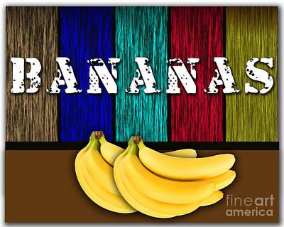 Bananas Art Print by Marvin Blaine