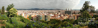 Photograph - Barcelona Spain - Montjuic by Gregory Dyer