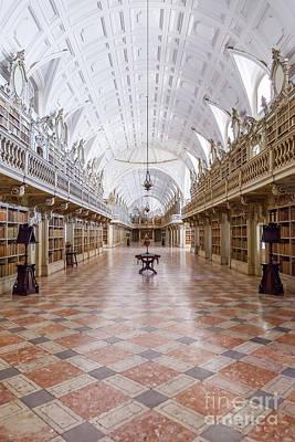 Religious Art Photograph - Baroque Library  by Jose Elias - Sofia Pereira