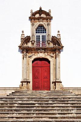 Red Door Photograph - Baroque Portal by Jose Elias - Sofia Pereira