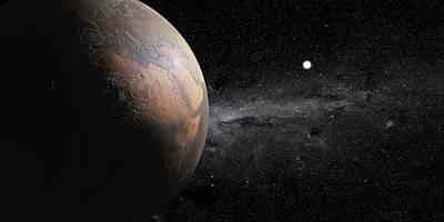 Stellar Photograph - Barren Earth by Peter Matulavich