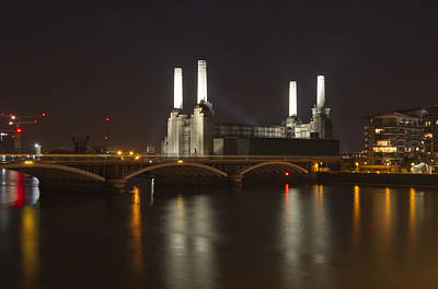 London Skyline Photos - Battersea Power Station London by David French