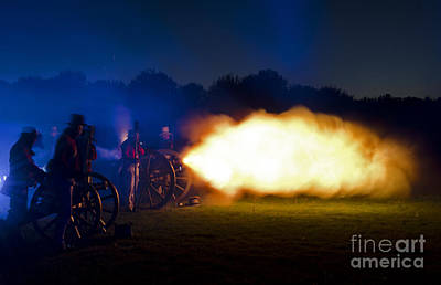 Photograph - Battle Of Fort George by JT Lewis