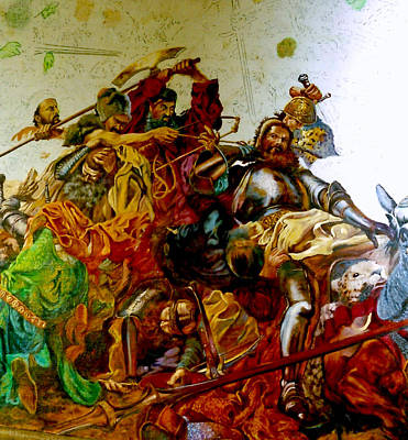 Battle Of Grunwald Art Print
