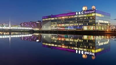 Photograph - Bbc Studio's Glasgow by Stephen Taylor