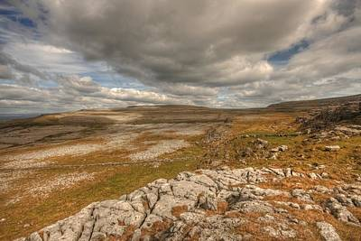 Fanore Photograph - Beautiful Burren Landscape by John Quinn