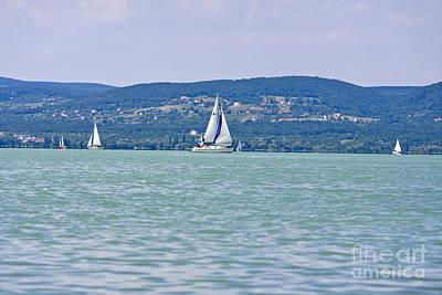 Beautiful Lake Balaton  Art Print