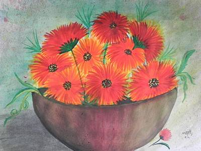 Painting - Beauty by Usha Rai