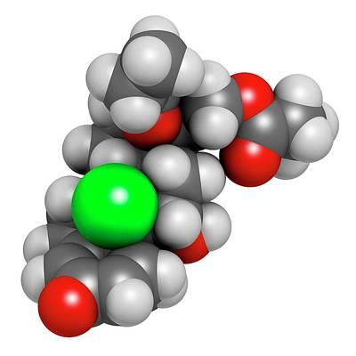Beclometasone Dipropionate Steroid Drug Art Print
