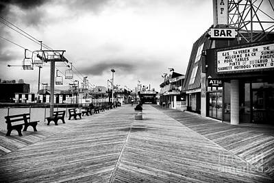 Seaside Heights Photograph - Before The Crowds by John Rizzuto