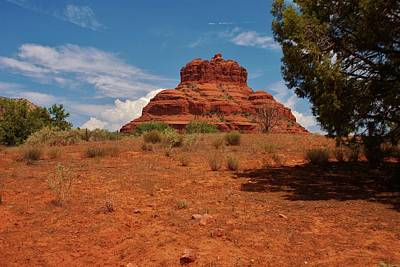 Bell Rock - Sedona Art Print by Dany Lison