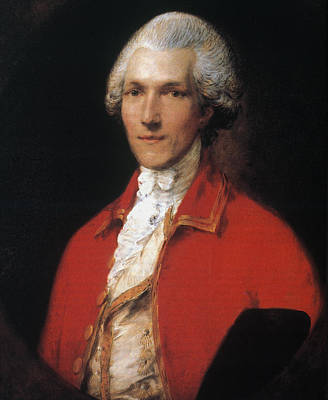 Redcoats Painting - Benjamin Thompson (1753-1814) by Granger
