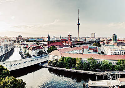 Photograph - Berlin Germany View On Major Landmarks by Michal Bednarek