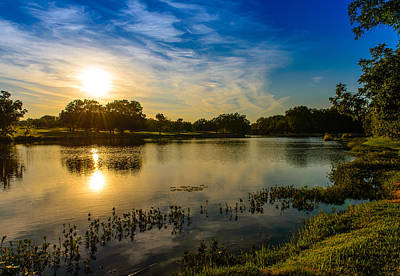 Photograph - Berry Creek Pond by John Johnson
