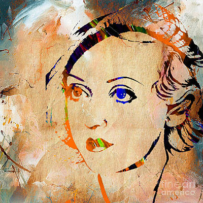 Mixed Media - Bette Davis Collection by Marvin Blaine