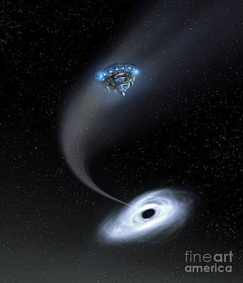 Photograph - Black Hole Research by Richard Kail
