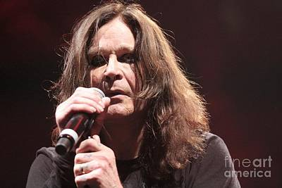 Ozzy Osbourne Photograph - Black Sabbath by Concert Photos