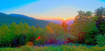 Photograph - Blue Ridge Parkway Early Morning by Alex Grichenko